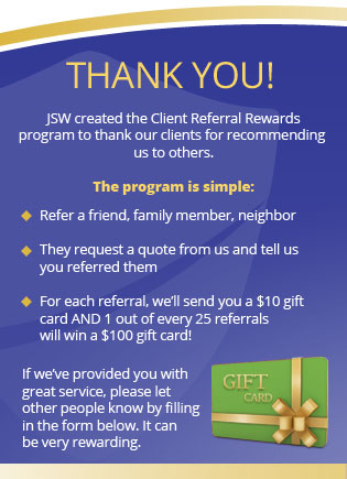 Client Referral Rewards